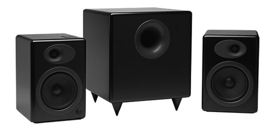 Review Audioengine A5 Amp S8 Combination Speaker System