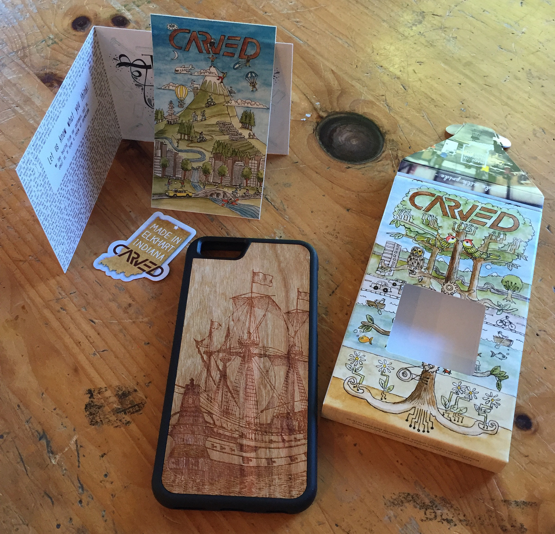 how to make a laser cut phone case