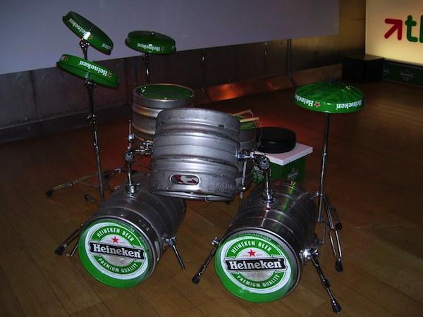 Heineken Drum Kit