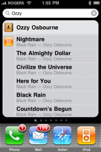 Ozzy Search