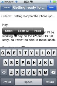 iPhone OS 3.0 Select
