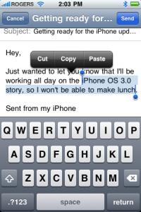 iPhone OS 3.0 Copy