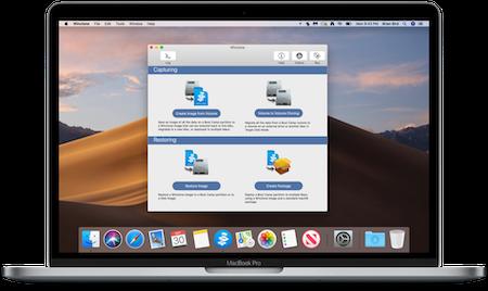 Winclone 8 on a Mac