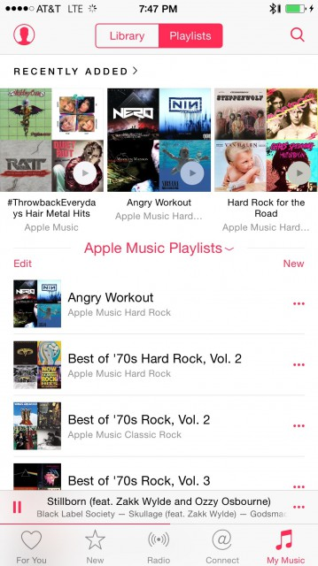 First Look: Apple Music