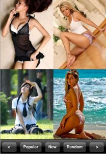 Hottest Girls iPhone app