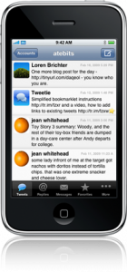 Tweetie for iPhone