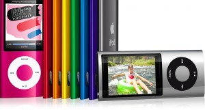 iPod nano with video camera