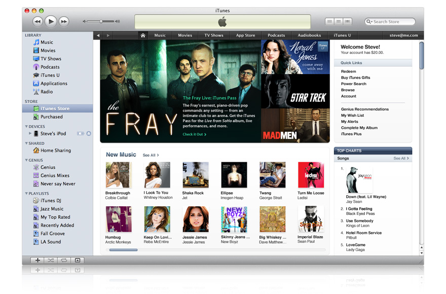 Apple releases iTunes 9.0.3